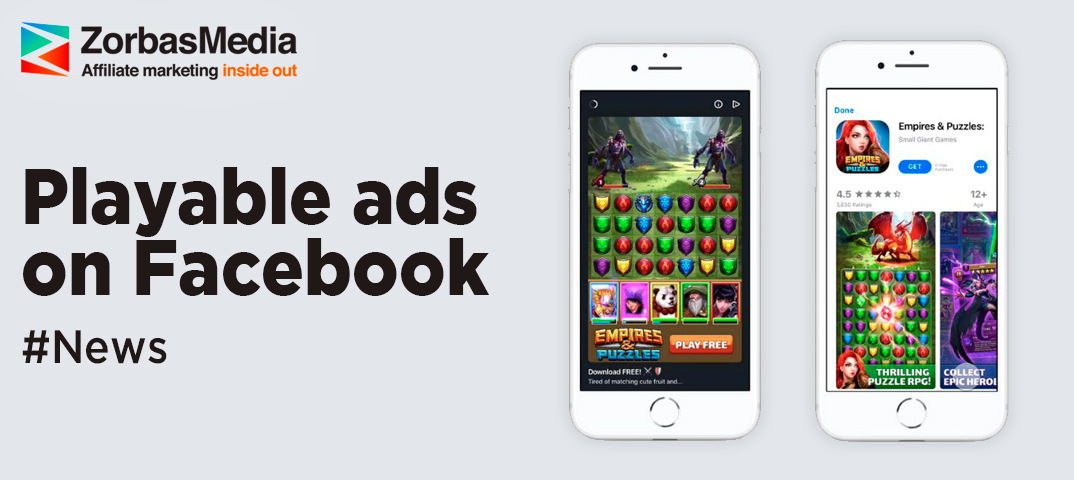 Facebook to launch playable ads in its news feed -