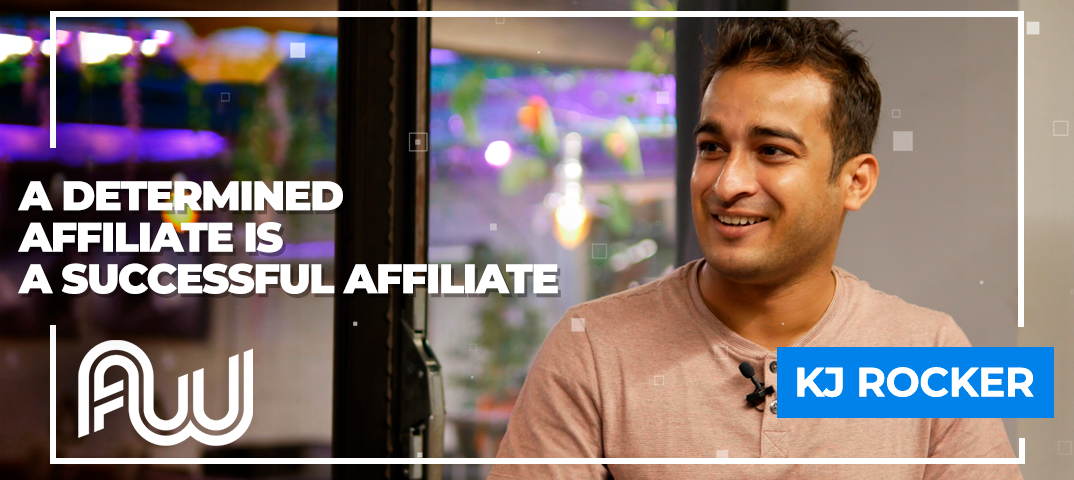 "Cover: ""A determined affiliate is a successful affiliate"""