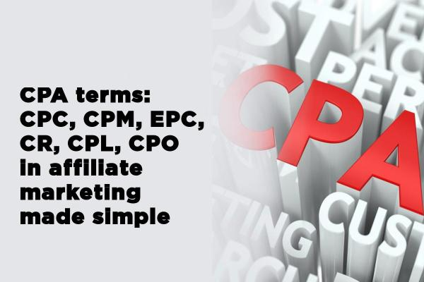 CPA terms